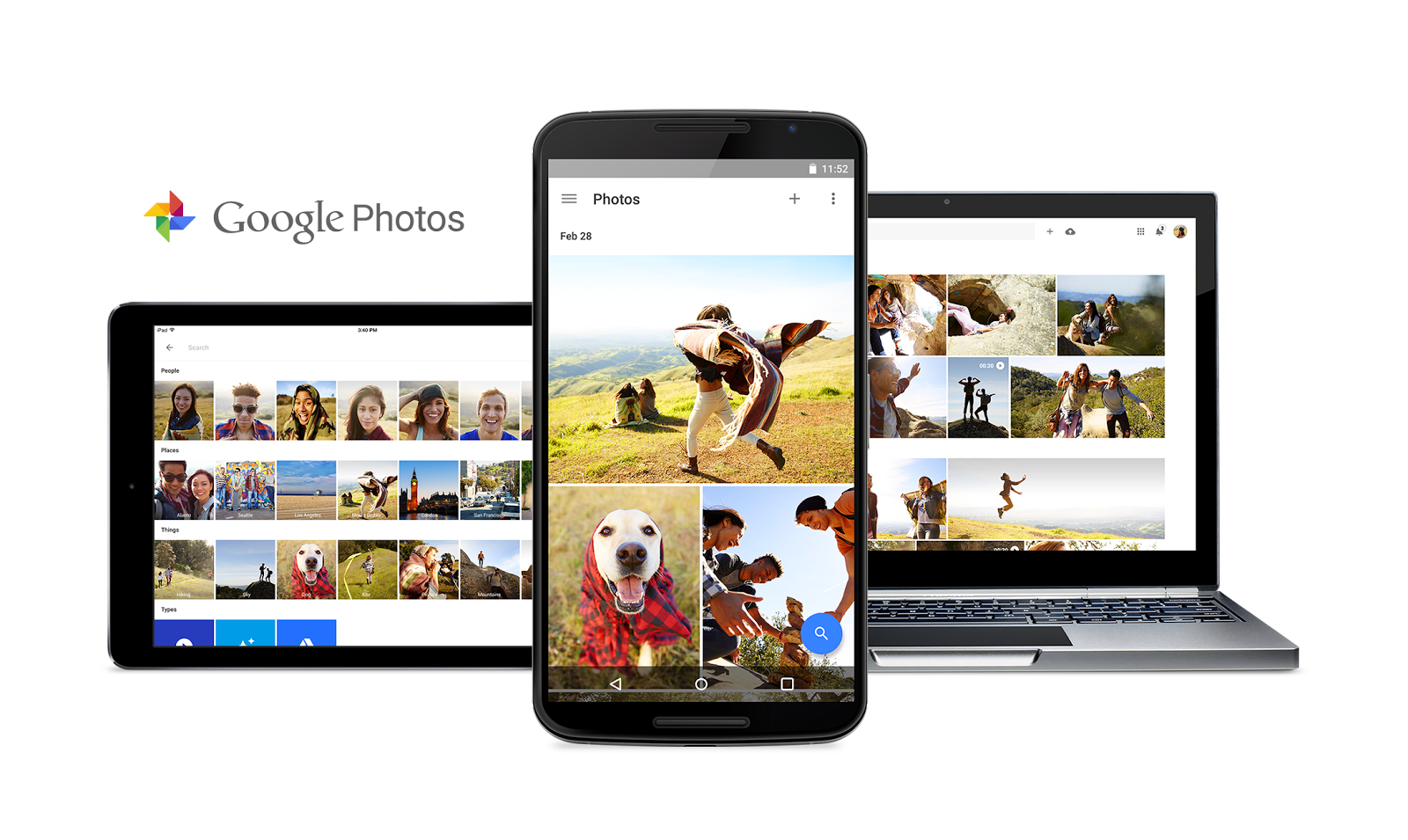 Google introduce functia de arhiva in Google Photos