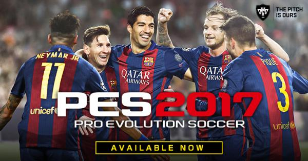 Konami introduce PES2017 Pro Evolution Soccer pe android si ios