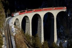 3Landwasser Viaduct, Switzerland