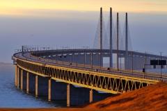 8Øresund Bridge, Denmark and Sweden