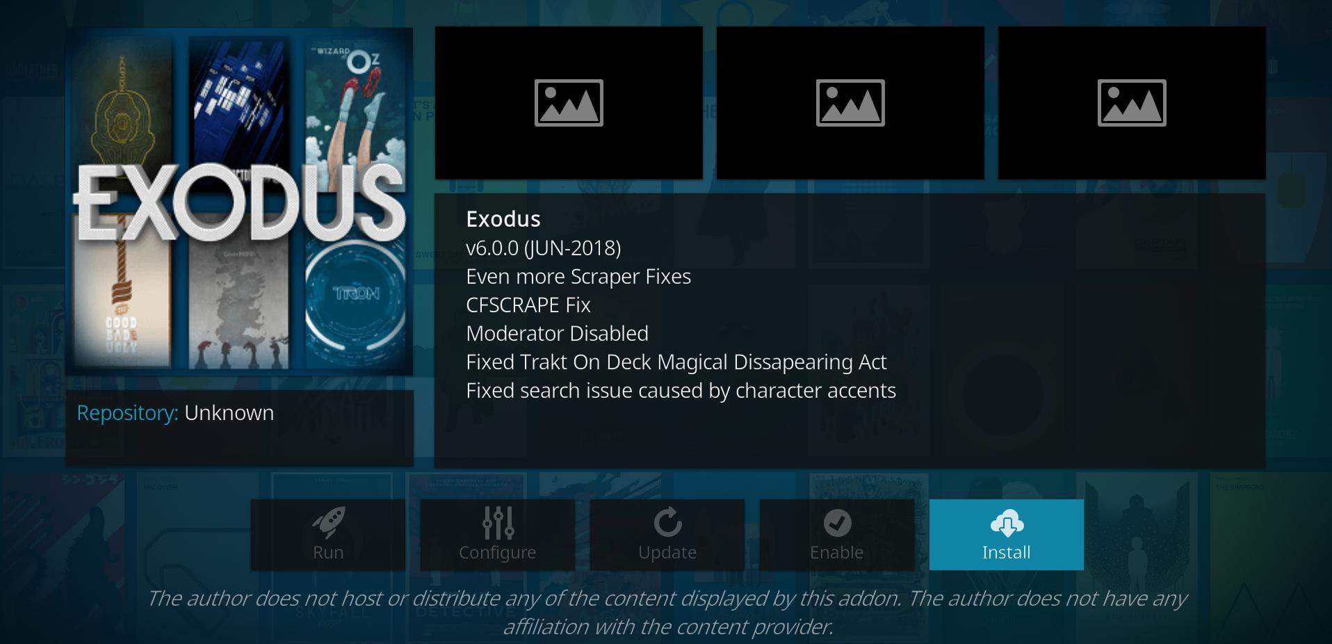 Exodus a revenit in 2018